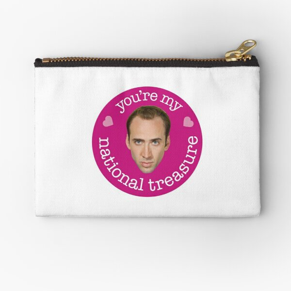 You're My National Treasure Zipper Pouch