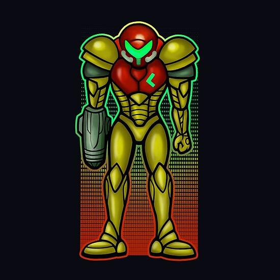 Super Samus Aran by likelikes