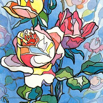 Stained Glass Roses by NellyRiekse