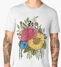 SUNFLOWER & ROSE Men's Premium T-Shirt
