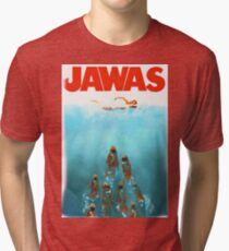 funny star wars jawas tshirt Tri-blend T-Shirt