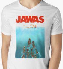 funny star wars jawas tshirt Men's V-Neck T-Shirt