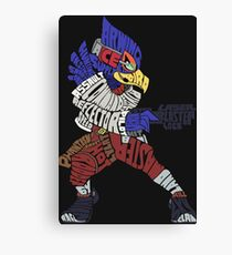That Ain't Falco! | Falco Typography Canvas Print