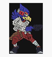 That Ain't Falco!   Falco Typography Photographic Print