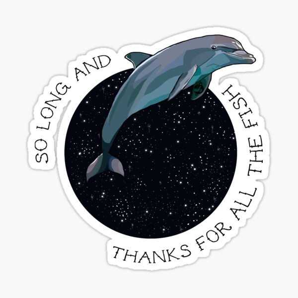 The Hitchhikers Guide to the Galaxy Sticker