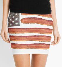 Bacon Flag Bacon Clothes Mini Skirt