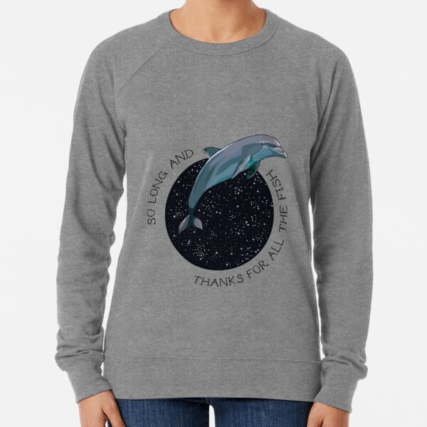 The Hitchhikers Guide to the Galaxy Lightweight Sweatshirt