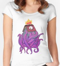 Booktopus Women's Fitted Scoop T-Shirt