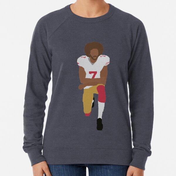 Kneeling Kaepernick Lightweight Sweatshirt