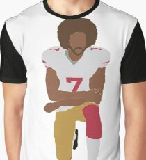 Kneeling Kaepernick Graphic T-Shirt