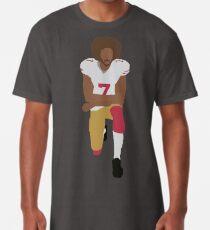 Kneeling Kaepernick Long T-Shirt