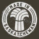 Made in Saskatchewan Grunge Light Logo by madeinsask