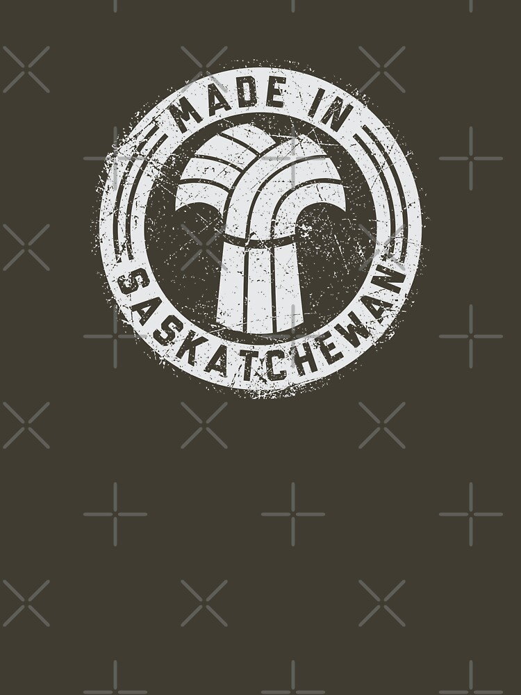 Made in Saskatchewan Grunge Light Logo by madeinsask