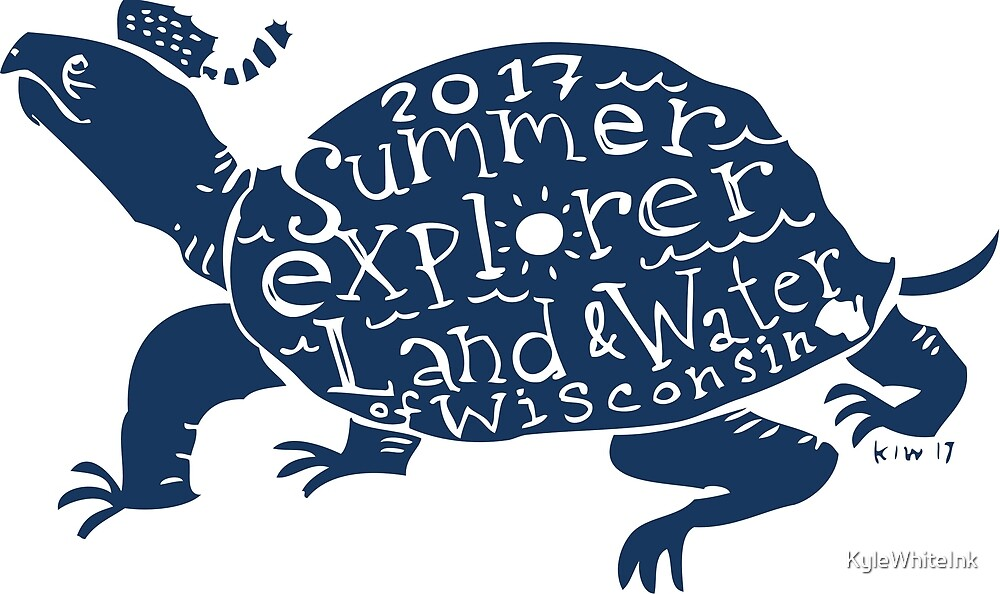 Summer Explorer Merit Badge: Wisconsin Turtle! by KyleWhiteInk