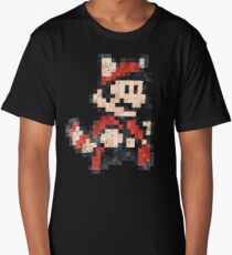 Super Mario Bros 3 Vintage Pixels V02 Long T-Shirt