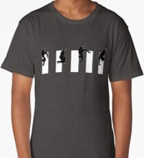 Ministry of silly walks/abbey road Long T-Shirt