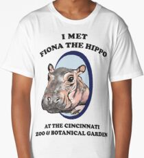 Fiona the Hippo Long T-Shirt