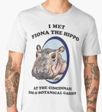 Fiona the Hippo Men's Premium T-Shirt