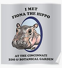 Fiona the Hippo Poster