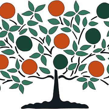 Tree of Life Shaker Dream Drawing Symbol Art by oldshaker