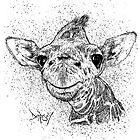 Baby giraffe  by Dempsalicious1