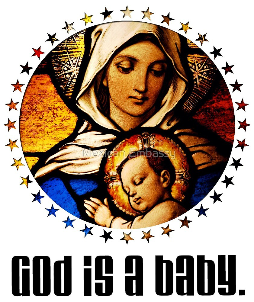 God is a Baby by Mexican Embassy