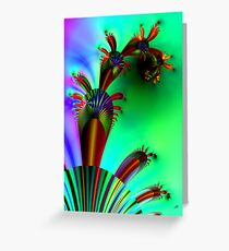 Fractal Cactus Greeting Card