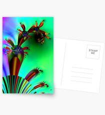 Fractal Cactus Postcards
