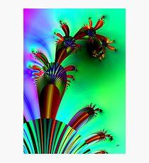 Fractal Cactus Photographic Print