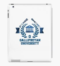 Gallifreyan Uni iPad Case/Skin