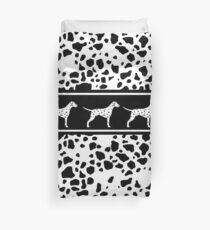 Dalmatian dog pattern Duvet Cover