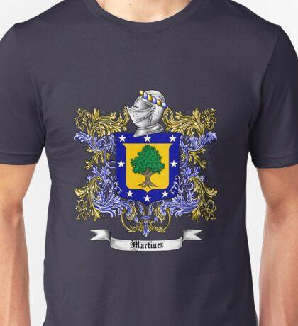 Martinez Family Crest Unisex T-Shirt