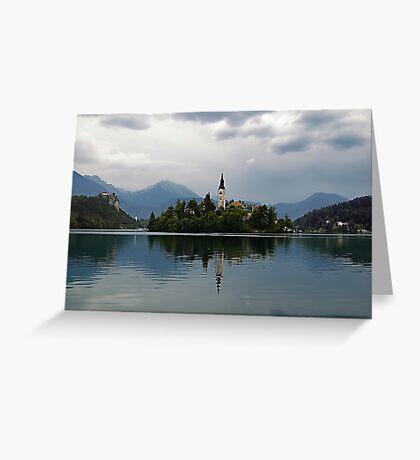Lake Bled Greeting Card