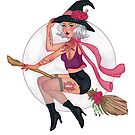 Agatha   Witch   Marker Art by FabledCreative