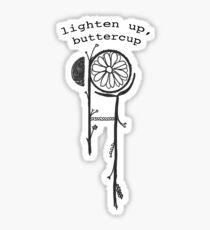 Buttercup Lyric Hippo Campus Sticker