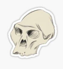 Australopithecus Sketch Sticker