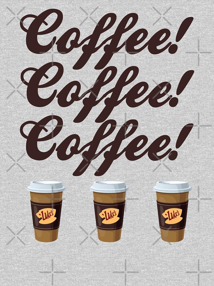 Gilmore Girls - Coffee Coffee Coffee Luke's Cups by mymainmandeebo