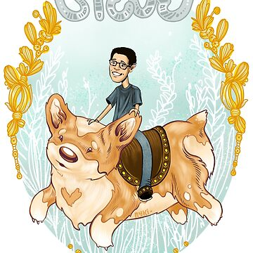 Steve the Corgi Lover by nykiway