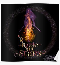 Rattle The Stars - Throne of Glass Poster