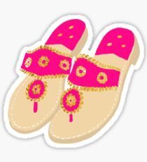 Preppy Sandals Sticker