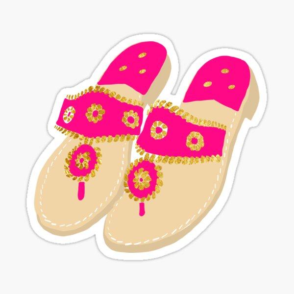 Preppy Sandals Sticker