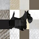 scottie checkered pattern by Veera Pfaffli