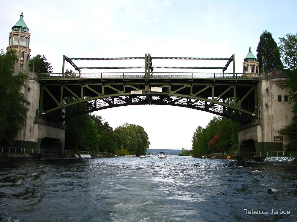 Montlake Bridge, Seattle by Rebecca Jarboe
