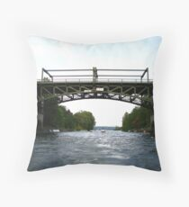 Montlake Bridge, Seattle Throw Pillow
