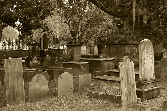 Old Southern Cemetery  by Gary L   Suddath