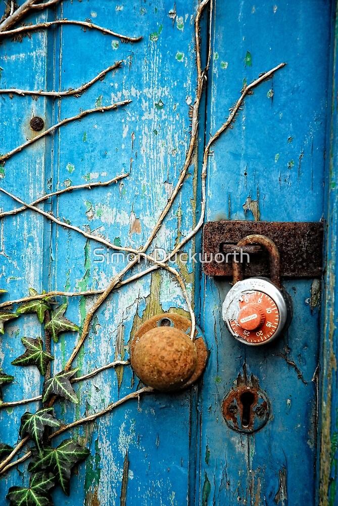 Blue door by Simon Duckworth