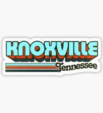 Knoxville, TN | City Stripes Sticker