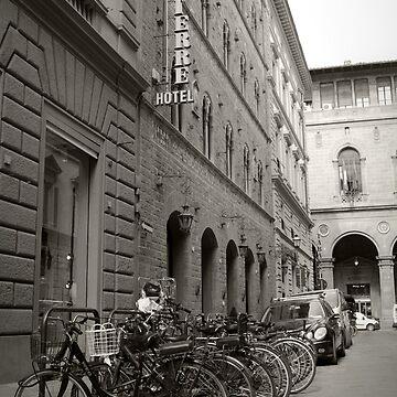 Bikes Outside The Pierre Hotel by skywalkin