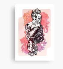 Joker Card  Canvas Print