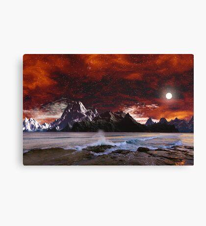 Campfire Views Canvas Print